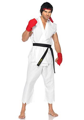 Street Fighter Ryu Costume Adult Small/Medium (Streetfighter Kostüm)