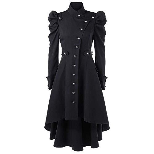 Saoye Fashion Abrigos Victorianos Steampunk Chaqueta