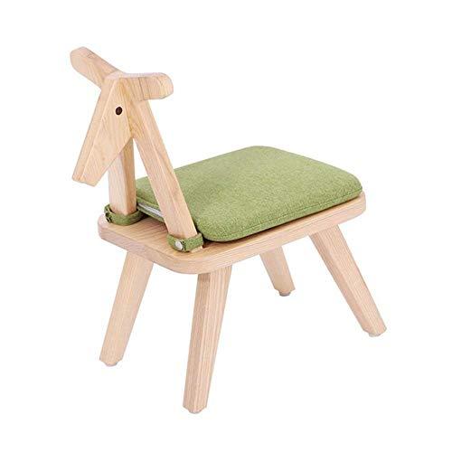 Zapateros Taburetes taburete de madera con respaldo silla con asiento de heces...
