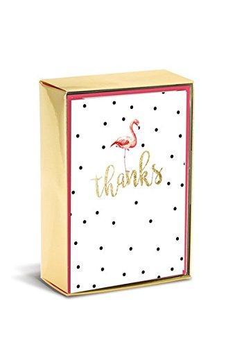 Boxed Notes: Flamingo Fun - Gruß- und Geschenkkartenbox mit Kuverts: Flamingospaß