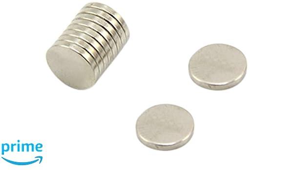 First4magnets F351-50 Aimant en N/éodyme N42 0,3 kg dattraction /Ø 5 mm x Epaisseur 1 mm Paquet de 50