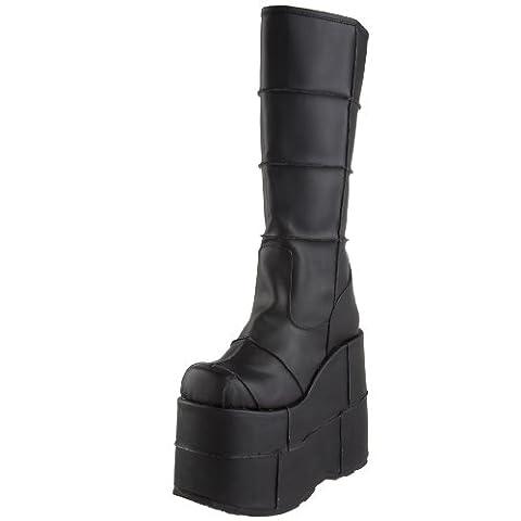 Pleaser Men's Stack-301 Platform Boot,Black PU,10 M US