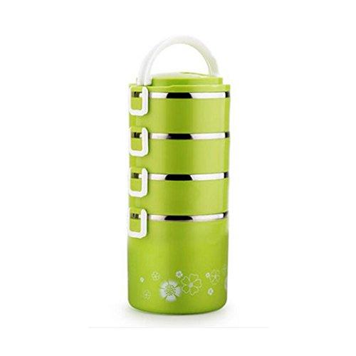 Liu Yu · da cucina, casa, picnic Home multi–Storey stainless steel lunch box grande–Capacità isolamento isolante pranzo scatole di inviare borse Posate da pasto C2 C1