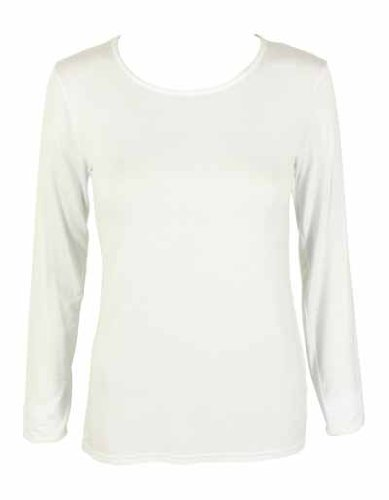 64400L Gildan Softstyle Womens ringspun t-shirt a maniche lunghe Bianco