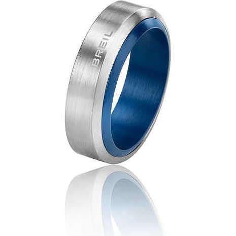 Breil anello uomo acciaio inossidabile