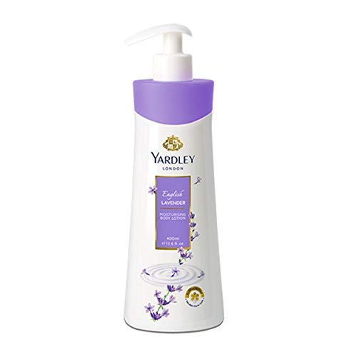 Yardley New London English Lavender Moisturising Body Lotion (400 ml)