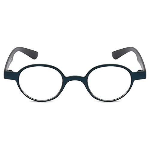 Aiweijia Männer Frauen lesen Gläser Mode Runde ultra Licht komfortable Full-Frame-elegante Anti-Müdigkeit Metallscharnier klare Vision unisex Retro-Brille