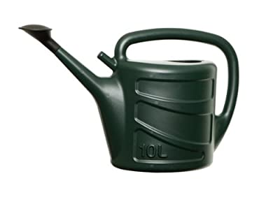 Whitefurze 10L Watering Can - Green