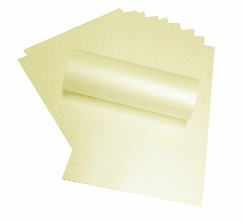 10-x-a4-opalfarben-creme-majestatischer-peregrina-perlglanz-papier-doppelseitig-120-g-m-geeignet-fur