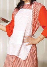 Dress Up America 216-12 - Kochschürze Kostüm, Kindergröße 12, weiß (Koch Kostüme Für Kleinkind)