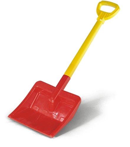 Rolly Toys 379675 - rolly-Shovel Kinderschaufel (Kunststoffschaufel, Sandschaufel, Schneeschaufel) rot/gelb