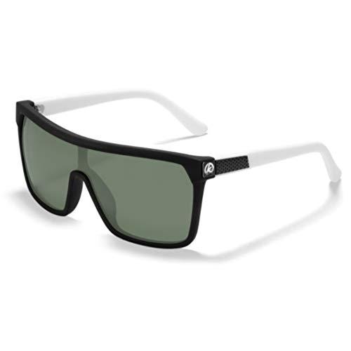 Li Kun Peng Einteilige Form Männer Sonnenbrille Polarisierte Elastische Lackoberfläche Sonnenbrille Frauen Geeignet Langlebige Schutzbrille Cat,C3BlackWhite~ArmyGreen