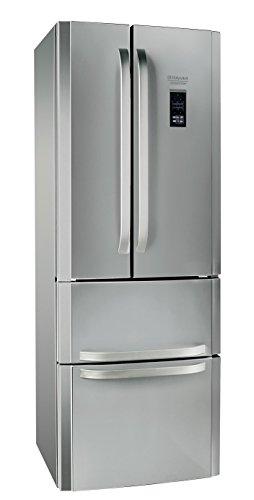 Hotpoint E4DG AAA X MTZ Side-by-Side / 195.5 cm Höhe / 278 kWh/ 298.0 Liter Kühlteil / 87.0 Liter Gefrierteil / Multi-Temperatur-zone