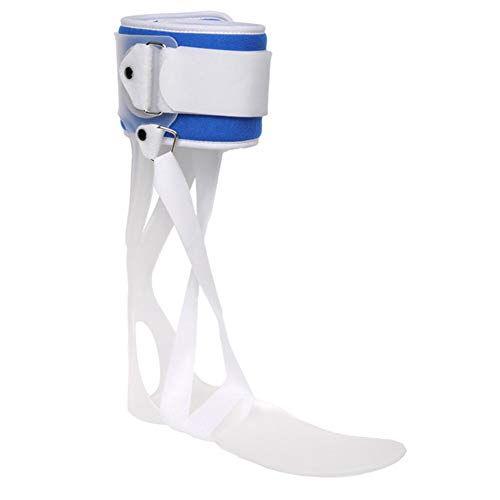 QINAIDI Fußsackorthese, hintere Blattart Knöchel-Varus-Valgus-Orthese, Fußstütze mit Knöchelgelenk, Kann Schuhe tragen,Left,M - Aircast Sport-knöchel-steigbügel