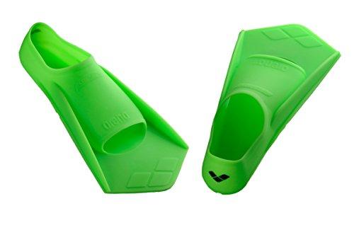arena Unisex - Erwachsene Schwimm-Trainingsflossen Powerfin, grün, 39-40, 95218 (Arena Schwimmen)