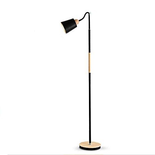 Weiche Beleuchtung Stehleuchte Eisen Holz Moderne Minimalistische Kreativ Stehlampe Wohnzimmer Schlafzimmer Bett Zwei Farben Optional