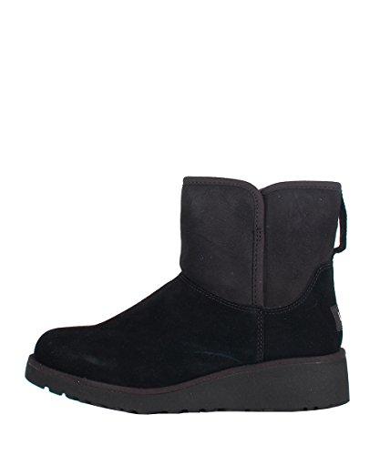 Ugg W Kristin Black Boots - Stivaletti Da Donna Neri In Camoscio