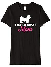 Damen Lhasa Apso Mama T-Shirt