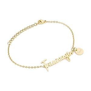 Trauzeugin Armband mit Namen Gravur | Personalisierte Geschenke | Trauzeugin Geschenke | Personalisierter Schmuck | Trauzeugin Armband in Schmuckverpackung als Geschenk | Silber Gold Rosegold
