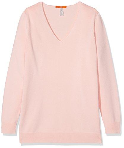 Boss Orange Wasmyn, Sweat-Shirt Femme Rose (Light/Pastel Pink 687)