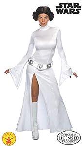 Star Wars - T-888610M - Disfraz de princesa Leia, talla M