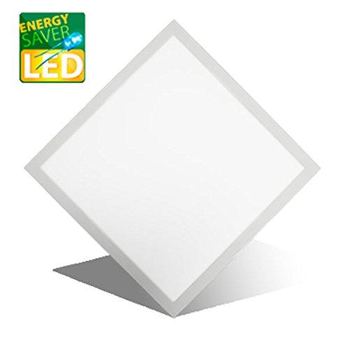 Licht Panel (LED Panel Einbau, MARIE classic, 620x620mm, 42W LED Bürolampe für Odenwalddecke, Rasterleuchten, Einlegeleuchte, Büroleuchten, Deckenleuchte.)