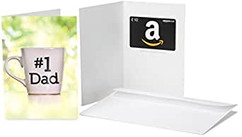 Amazon.co.uk Gift Card - In a Greeting Card - £10 (#1 Dad)