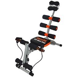 MAXOfit Heimtrainer Multitrainer Sixmax MF-6 für Bauch, Beine und Po - Máquina de step para fitness ( fitness, plegable )