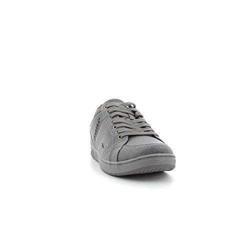 Scarpe moda uomo CARRERA con logo in vista suola gomma CA727010 Grigio