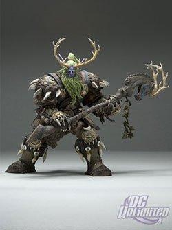 World of Warcraft Series 2 Night Elf Druid: Broll Bearmantle Action Figure 1
