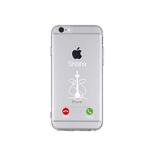 licaso Apple iPhone 6 Handyhülle Smartphone Apple Case aus TPU mit Shisha Decline Accept Print Motiv Slim Design Transparent Cover Schutz Hülle Protector Soft Aufdruck Lustig Funny Druck