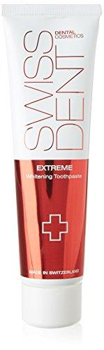 Swissdent Extreme Whitening Zahncreme 100 ml, Natürlich Weisse Zähne, Zahnaufheller für empfindliche Zähne