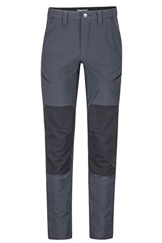 Marmot Herren Highland Pant Trekkinghose Softshell Funktionshose, Wasserabweisend, Black, 34