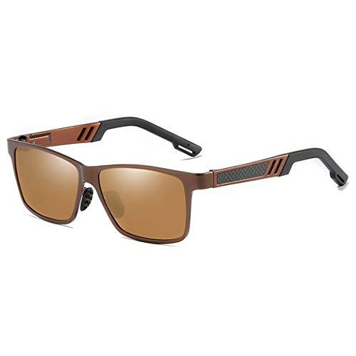 GUOTAIEUP Sonnenbrillen Hochwertige Mode Elegant Persönlichkeit Strand Outdoor Party Mode Männer Polarisierte Sonnenbrille Fischer Camping Wandern Uv400 Sonnenbrille Outdoor Sport Angeln Brillen Brill