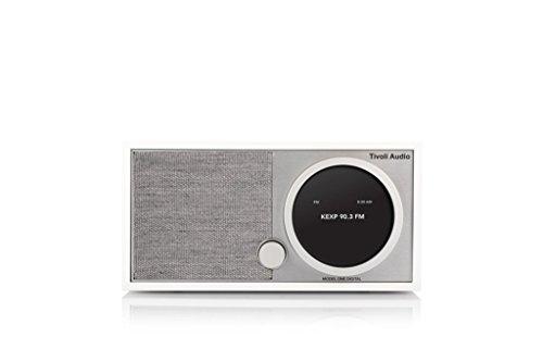 Tivoli Audio Model-One (M1DWHT) Digital Table Radio - White/Gray