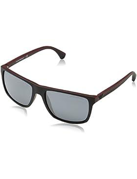 Emporio Armani Herren EA 4033 Modern Wayfarer Sonnenbrille