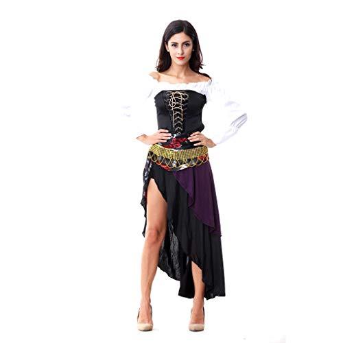 GAOJUAN Halloween Kostüm Karnevals Erwachsene Cosplay Sexy Pirate Queen Kostüm - Pirate Queen Für Erwachsene Kostüm