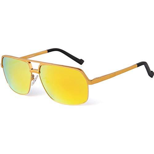 BAIJJ Sonnenbrille Herren Classic Full Frame Aluminium Magnesium Polarized Fashion Sunglas