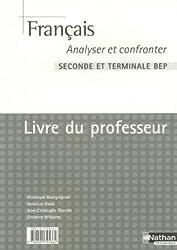Français 2e et Tle BEP : Livre du professeur