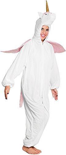 en Einhorn Tier Mythisch Kreatur Schlafanzüge Einteiler Hausanzug weich flauschig Kostüm Kleid Outfit (Einhorn Teen Kostüme)