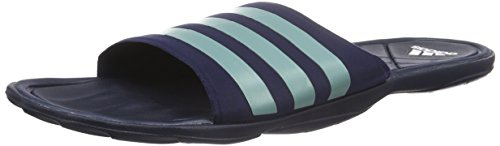 adidas Herren Adipur Slipper Aqua Schuhe, Blau (Collegiate Navy/Vapour Steel/Clear Grey), 38 EU