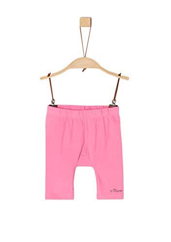 s.Oliver Baby-Mädchen 59.906.75.5015 Shorts, Rosa (Pink 4418), (Herstellergröße: 92/REG)