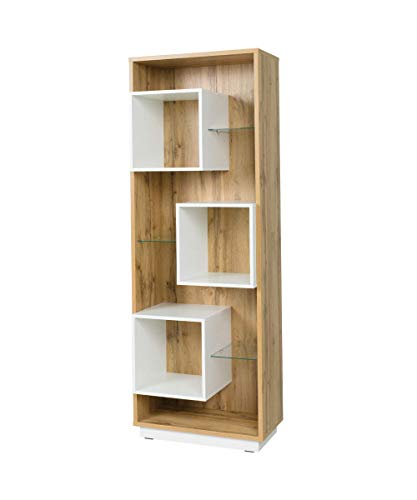Movian Douro Bookcase, 70 X 195.6 X 39cm