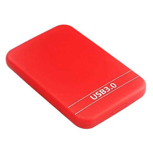 Gazechimp Externe Pocket Festplatte USB 3.0 Kompatibel Mit Windows PC, Mac, Xbox ONE Und Red - 1T -