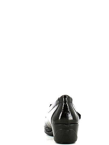 Susimoda 8309 Scarpa velcro Donna Nero
