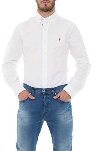 Polo Ralph Lauren Slim Ft BD Ppc White Chemise Casual Homme