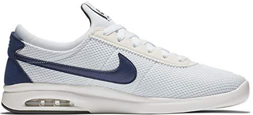 Bruin Sb (Nike Herren Sb Air Max Bruin Vpr Txt Fitnessschuhe Mehrfarbig (White/Blue Void/Midnight Green 100) 40.5 EU)