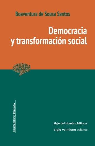 Democracia y transformación social por a Boaventura de Sousa Santos