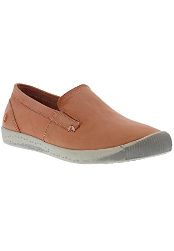 Softinos Ita Washed, Mocassins femme Salmon