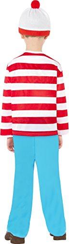 Imagen de smiffy's  disfraz de wally para niño, talla m 7  9 años  39971m  alternativa